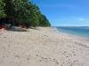 White Sand Beach in the National Park of Pangandaran